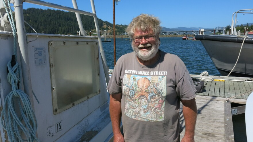 Over the 40 years John Wilson has lived in Gold Beach, he's watched the fishing industry decline.