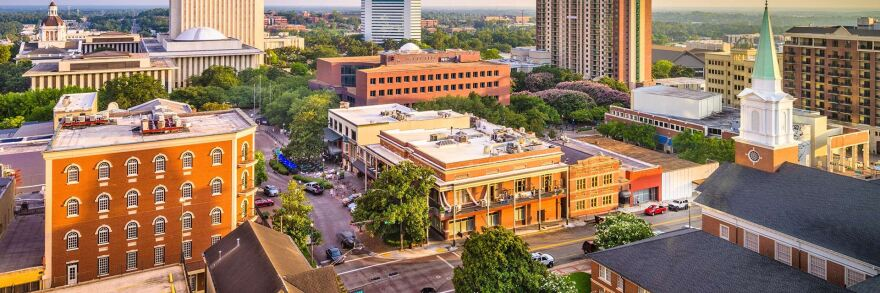Tallahassee, photographed from above