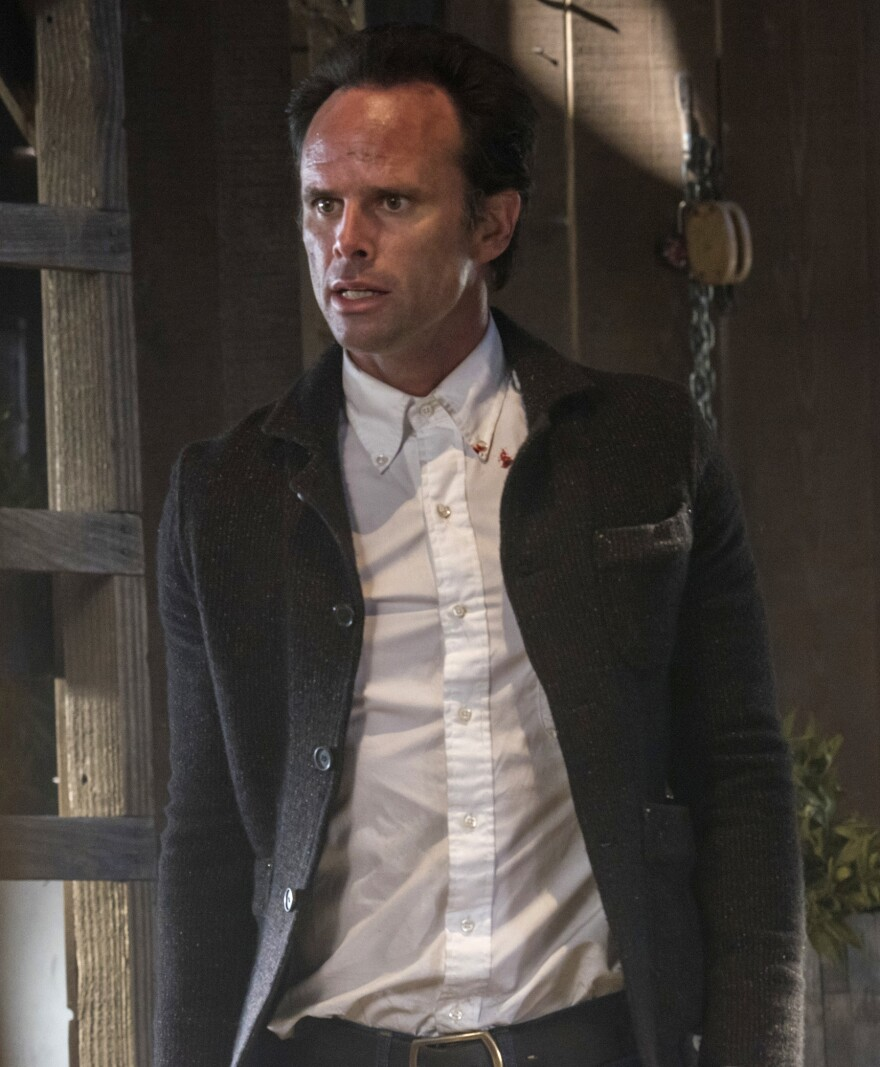 Walton Goggins as Boyd Crowder.