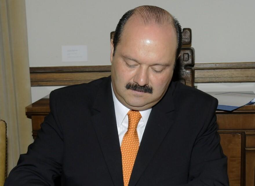 César Horacio Duarte, former governor of the Mexican state of Chihuahua.