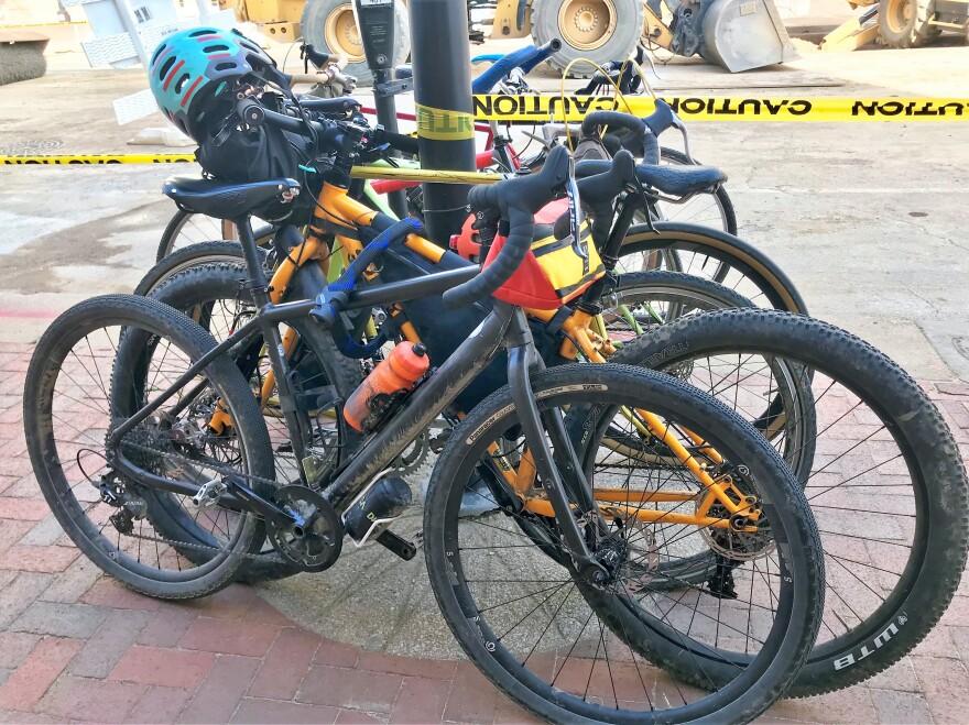 Photo of bikes