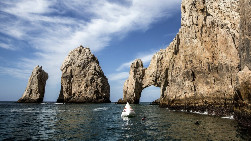 The Arch of Cabo San Lucas, one of Mexico's top tourist destinations, in 2017.