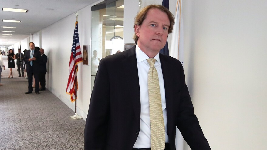 White House counsel Don McGahn has cooperated extensively in the Mueller inquiry, meeting with the special counsel's team of investigators for a total of 30 hours.