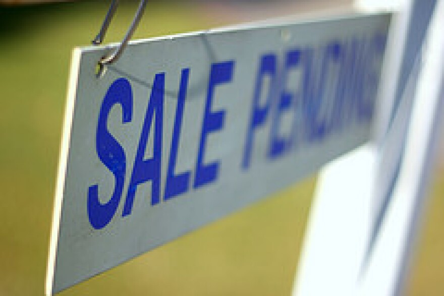 home sale sign