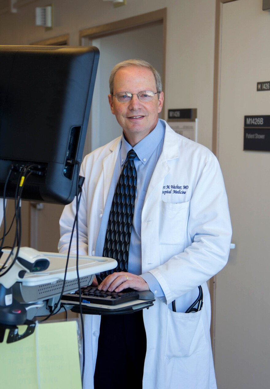 Dr. Robert Wachter writes that computers have crowded out eye contact between the doctor and patient, in his latest book, <em>The Digital Doctor: Hope, Hype, and Harm at the Dawn of Medicine's Computer Age.</em>