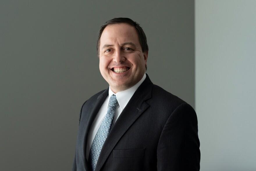 Missouri Secretary of State Jay Ashcroft, in a photo taken at St. Louis Public Radio on June 28, 2018