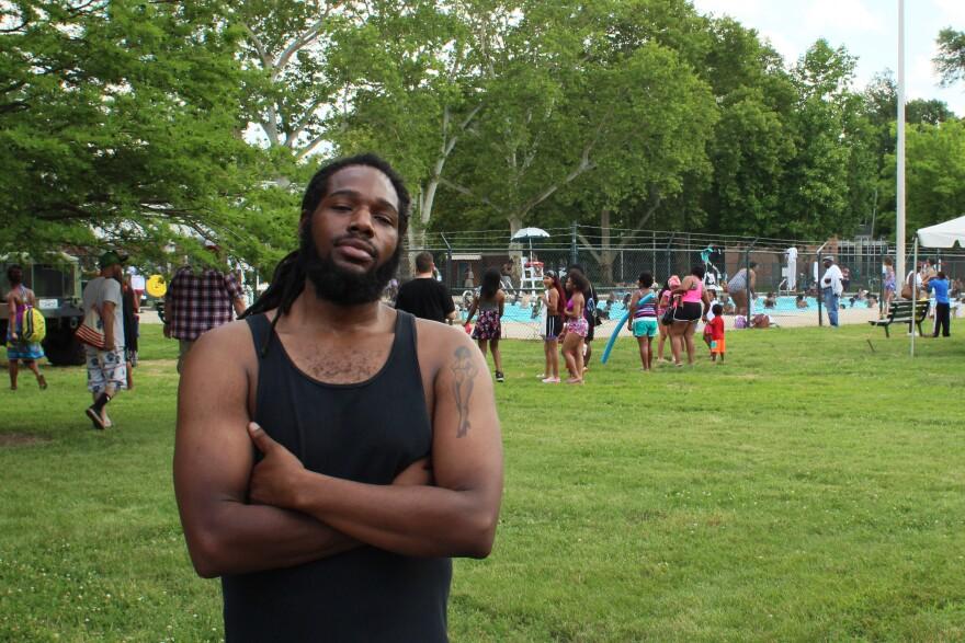 """Gravois Park resident Eric """"Prospect"""" White, 30"""