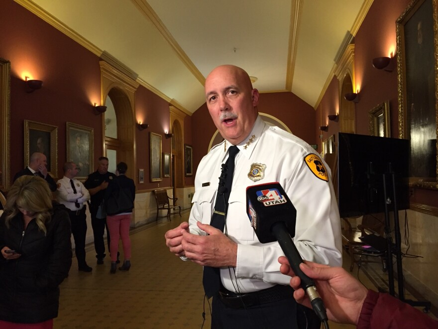 Photo of Police Chief Mike Brown