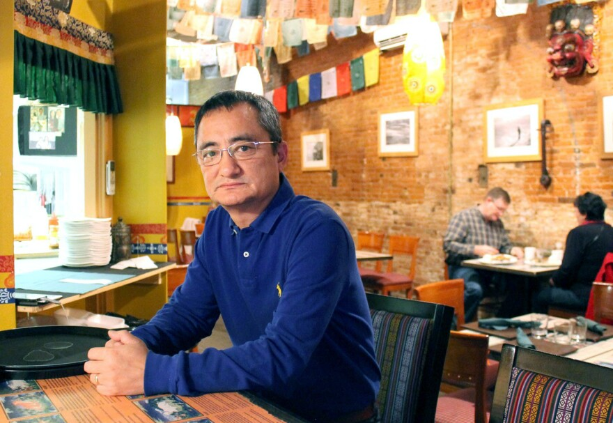 Tenzin Dorjee, one of the owners of the Himalaya Restaurant in Plattsburgh, N.Y., was repeatedly harassed in the days after the presidential election.