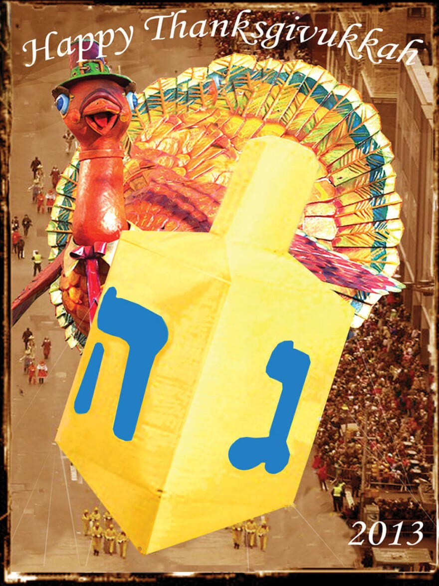 Thanksgivukkah — it's the best of both worlds.