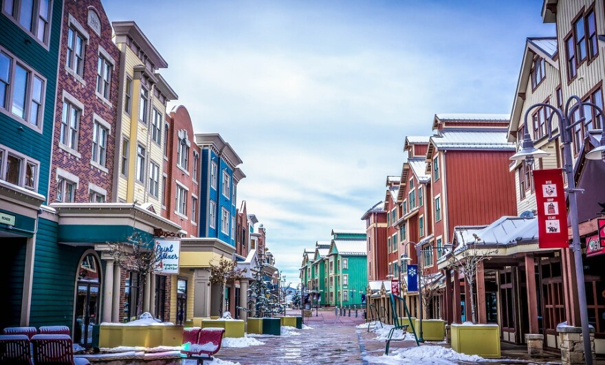 Photo of Main Street in Park City, UT.