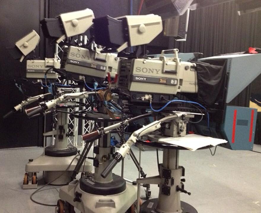 1988 cameras in Charleston studio