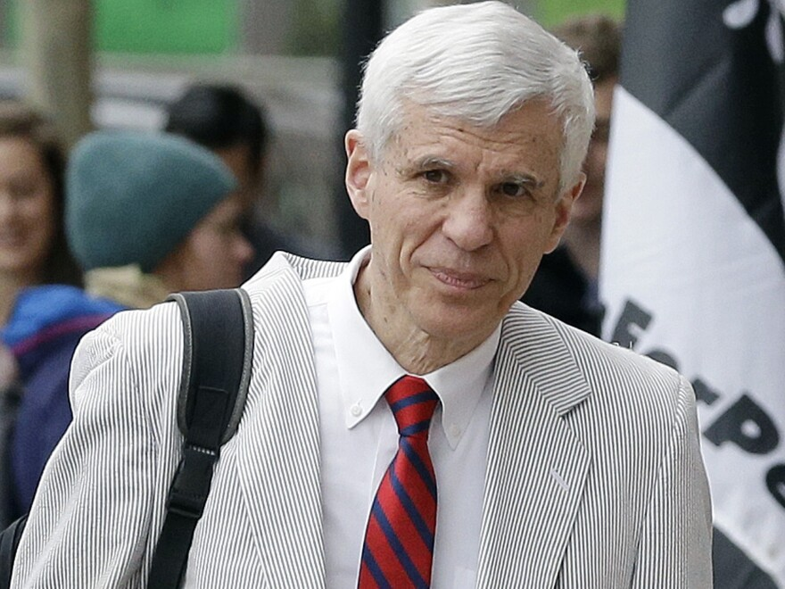 Attorney David Bruck was appointed by a federal judge to represent Dylann Roof. Roof was granted the right to represent himself in the federal death penalty case against him.