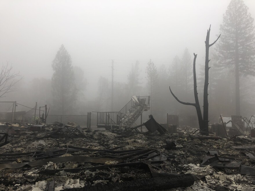 Crews in the final phase of the search for missing residents around Paradise, Calif., are facing landslide concerns as heavy rain and winds move in. Ash from all of the burned structures could form a toxic slush with the rain.