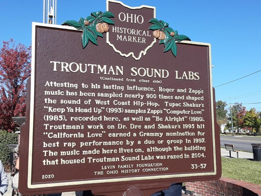Troutman Sound Labs Historic Marker