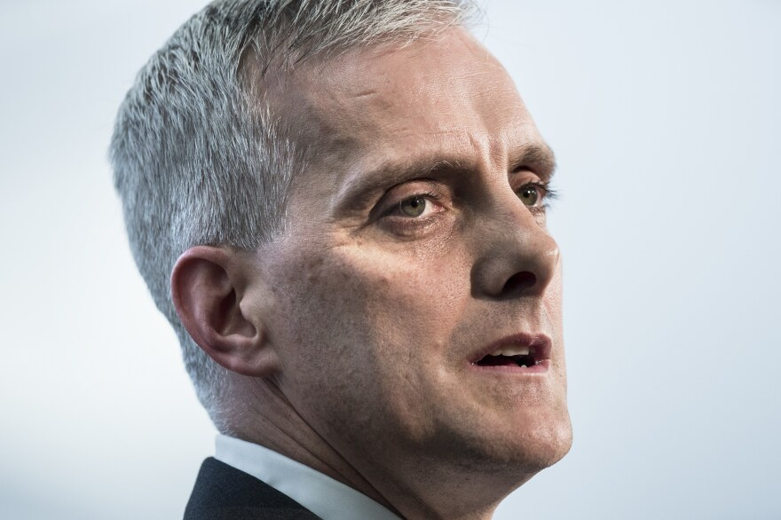 """""""An occupation that has lasted for almost 50 years must end,"""" White House Chief of Staff Denis McDonough told the annual J Street conference"""