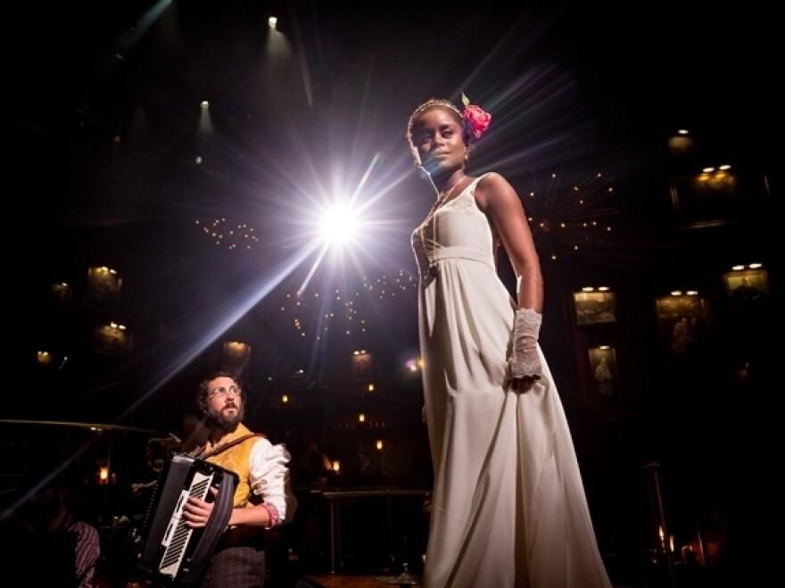 Recording artist Josh Groban plays Pierre to newcomer Benton's Natasha in <em>The Great Comet Of 1812</em>, based on Leo Tolstoy's <em>War and Peace.</em>