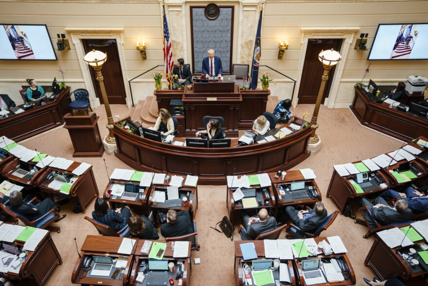 Photo of Utah Senate.