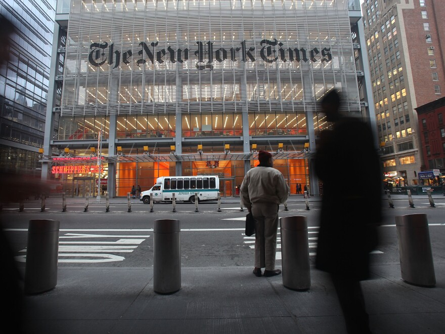 Edward Snowden didn't trust <em>The New York Times</em><em> </em>with his revelations about the National Security Agency because the newspaper had delayed publishing a story about NSA secrets a decade earlier.