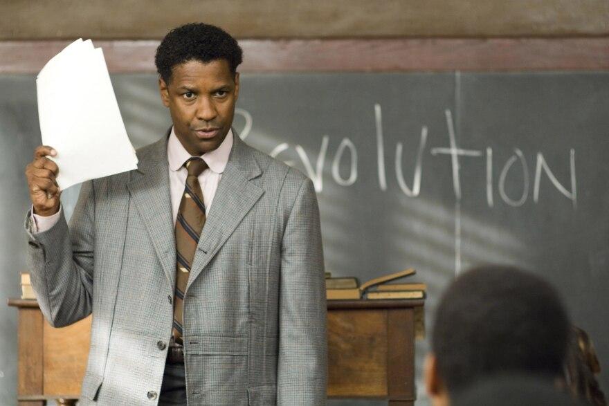 Denzel Washington in <em>The Great Debaters.</em>