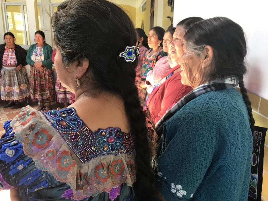 Healers and midwives from across Totonicapán in Guatemala.