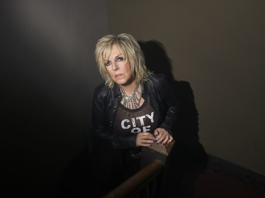 "Lucinda Williams sees her new album <em>Good Souls Better Angels</em> as part of a long line of political country music. ""Go back and listen to Woody Guthrie. It is my job, as far as I'm concerned,"" she says."