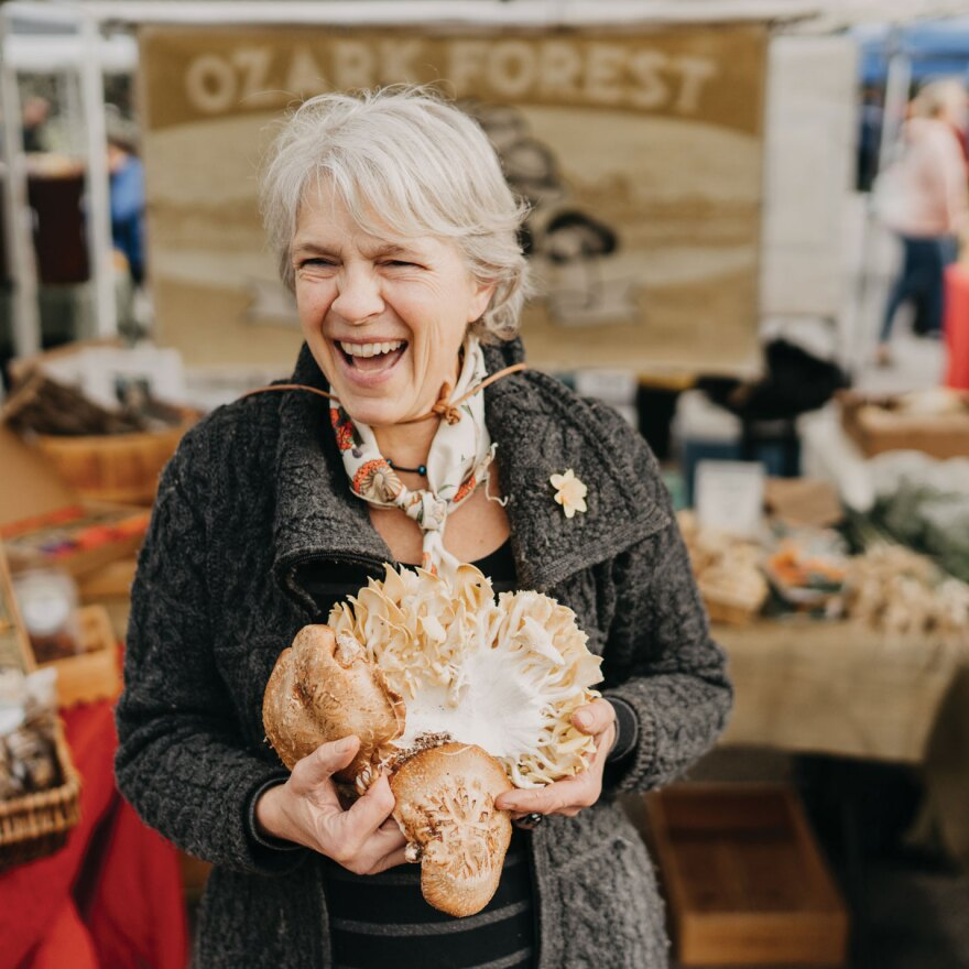 Nicola Macpherson owns and operates Ozark Forest Mushrooms.
