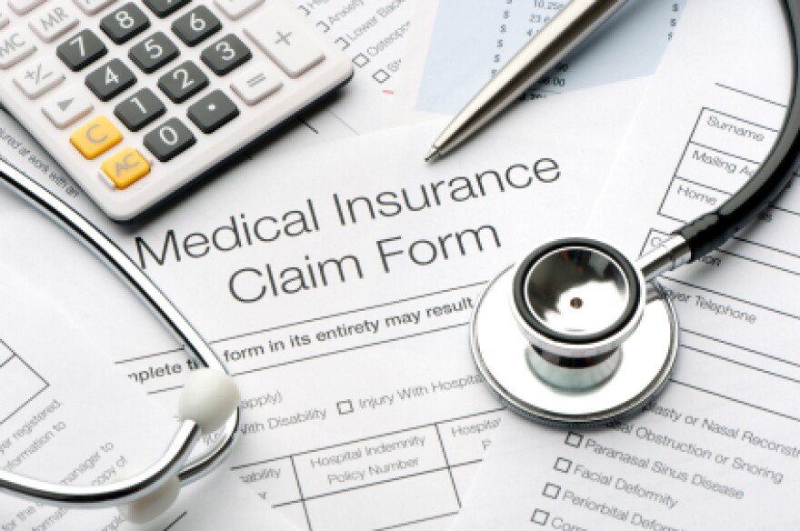 picture of medical insurance claim form
