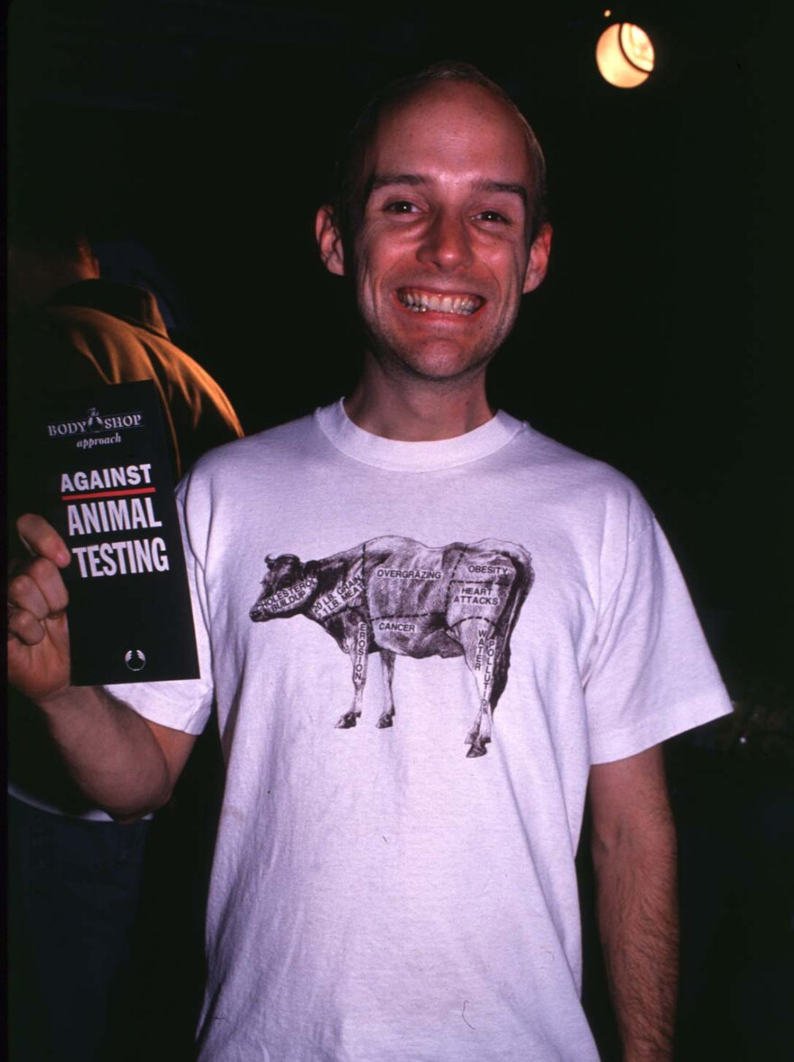 Moby at an event in New York City in 1994.