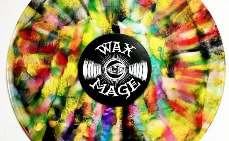 Shuffle: Cleveland's Wax Mage Records Cooks Up Custom Vinyl Creations | WKSU