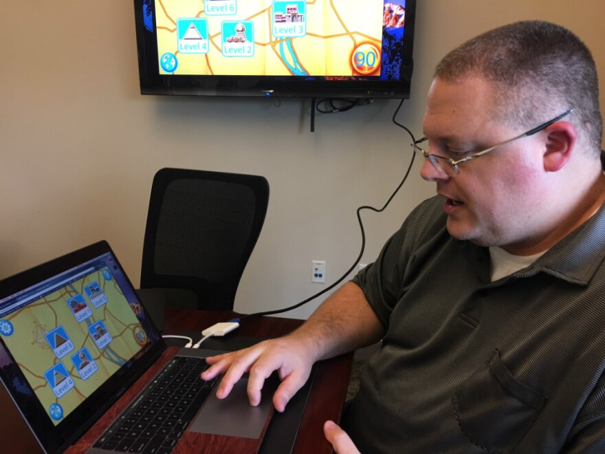 SMU professor Corey Clark is a member of the grand prize winning PeopleForWords team. The team shared the Bush XPrize for creating a successful literacy app.