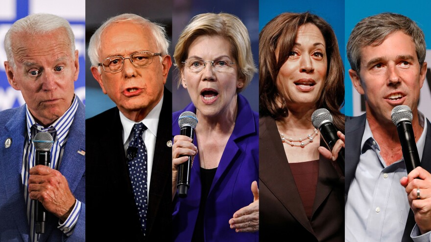 Former Vice President Joe Biden, Sen. Bernie Sanders, Sen. Elizabeth Warren, Sen. Kamala Harris, former Rep. Beto O'Rourke have all made the cut to appear in the first Democratic primary debate.