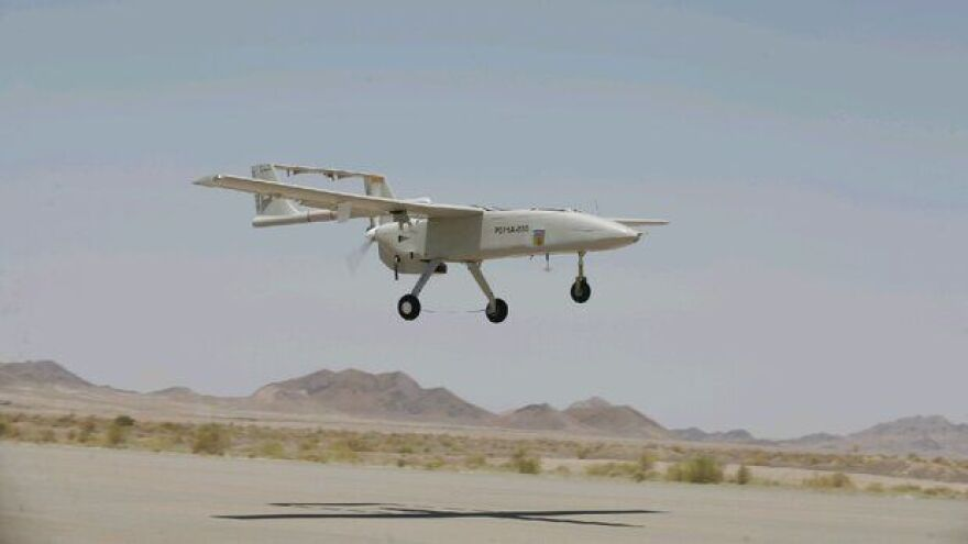 The day before a U.S. Navy ship took down a drone, Iran's official IRNA news agency published a story unveiling the Iranian army's new drone, called the Mohajer 6. It's not yet known how similar this drone might be to the one that was destroyed Thursday.