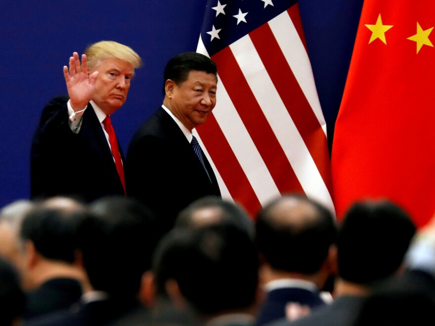 President Trump is due to meet with Chinese leader Xi Jinping in Japan this weekend, raising hopes the two leaders might call a truce in their trade war. The White House has downplayed expectations of a deal.