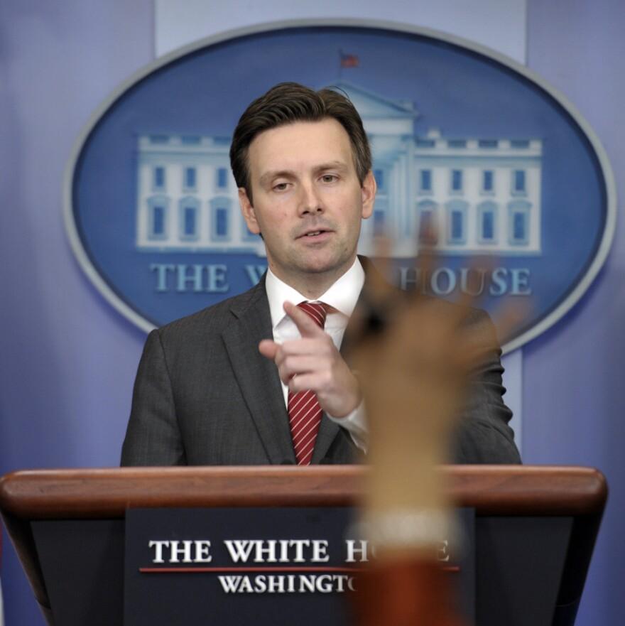 White House Deputy Press Secretary Josh Earnest in February 2012.