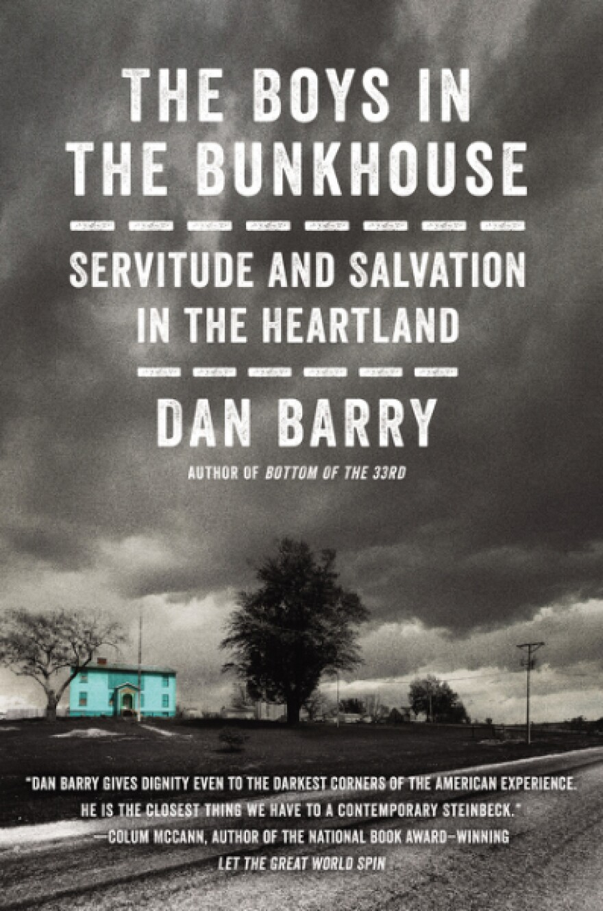 """The cover of """"The Boys in the Bunkhouse,"""" by Dan Barry. (Courtesy HarperCollins)"""
