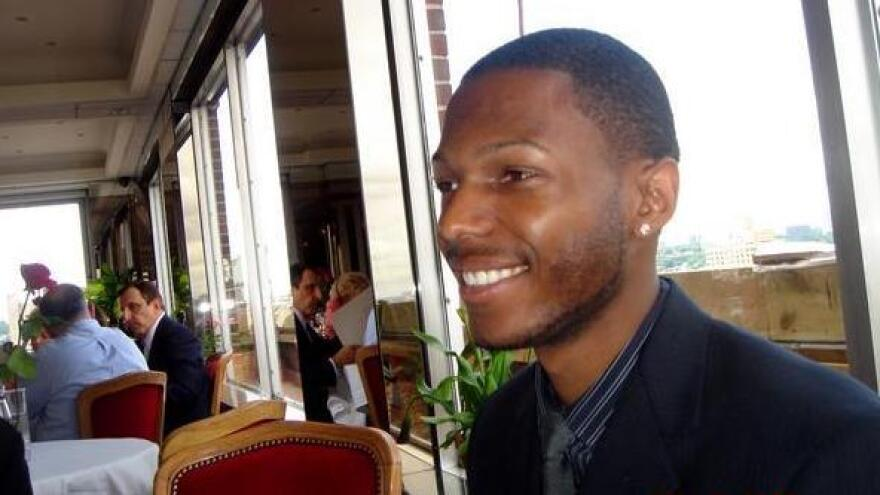 Malcolm Shabazz, pictured in this 2006 photo posted on his blog, is said to have died Thursday at age 28.