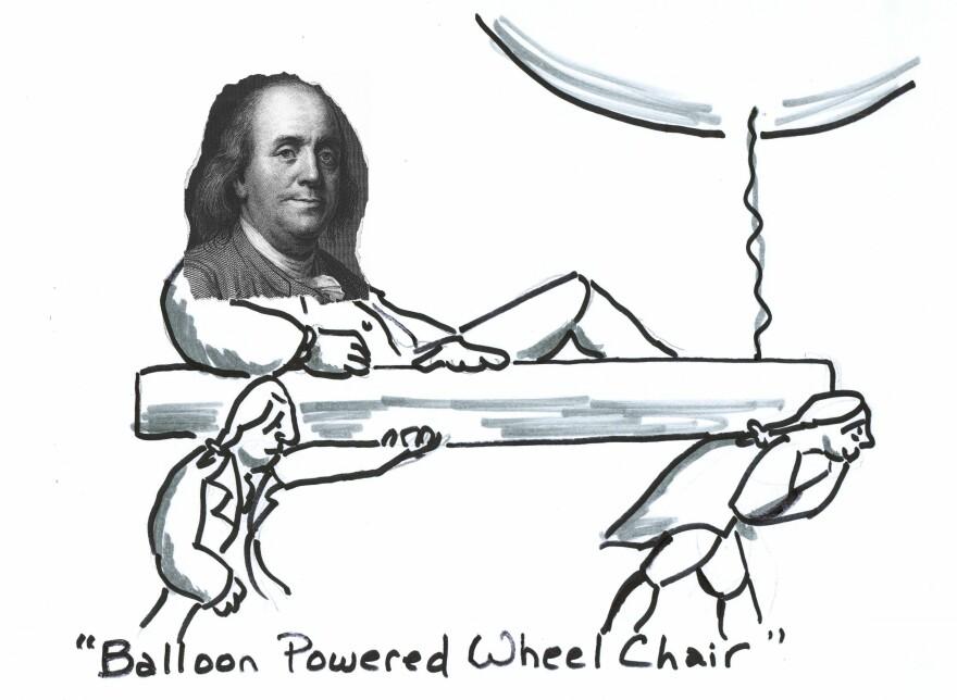 Balloon Powered Wheelchair