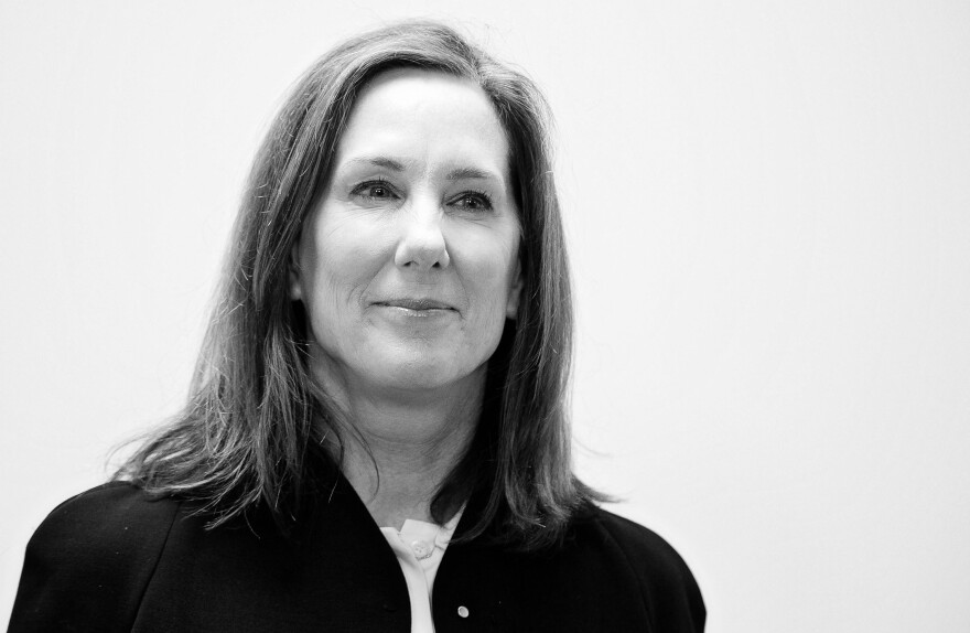 """Lucasfilm president Kathleen Kennedy is aware that all of her film mentors have been men. """"Part of my responsibility is I need to bring other women along,"""" she says."""