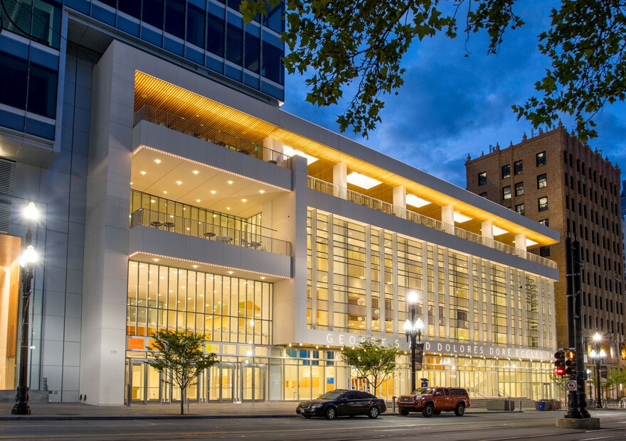 Photo of the Eccles Theater.