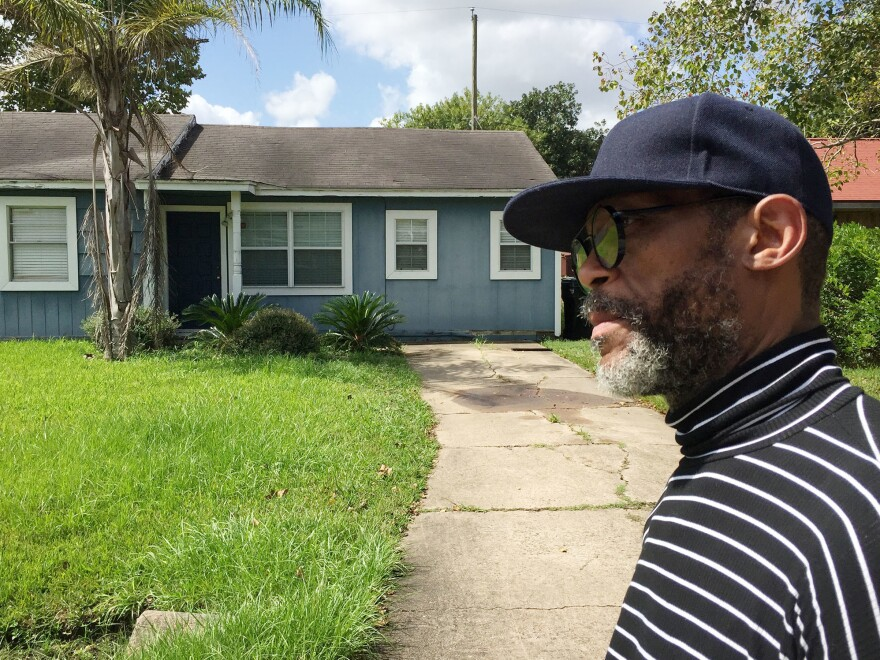 Donnal Walker, 52, returned home to find his HIV pills floating in floodwaters from Hurricane Harvey. He went 11 days without medication.