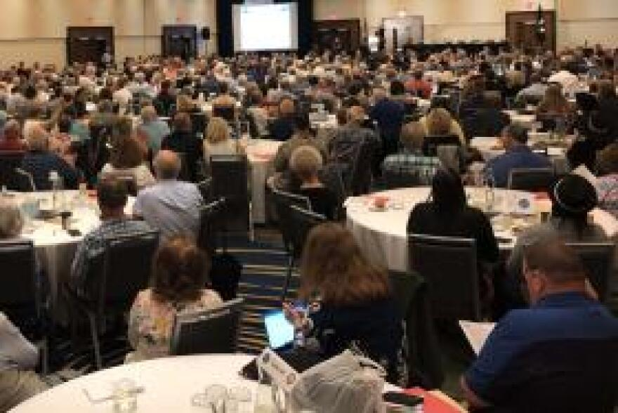 Attendance at this year's annual meeting of MIA families was the largest ever. Nearly 800 family members of Korean War MIAs, along with a handful of those of Cold War MIAs, attended the event near Washington D.C.