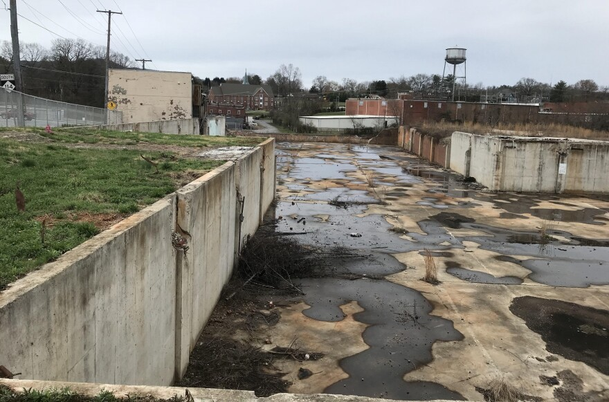 The former Drexel Heritage Furniture factory site has been empty for more than a decade. Its namesake town of Drexel, in eastern Burke County, has less than 2,000 residents.