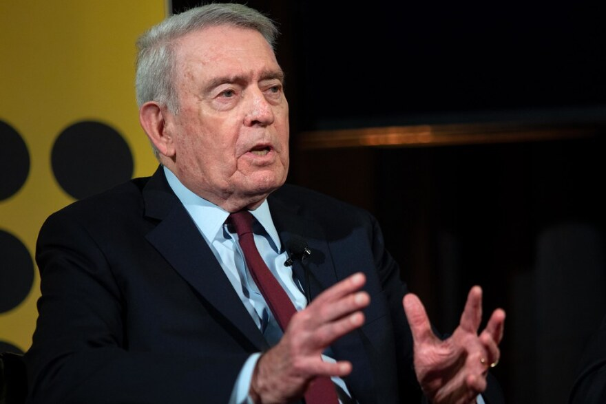 Dan Rather at the Texas Tribune Festival in 2018.