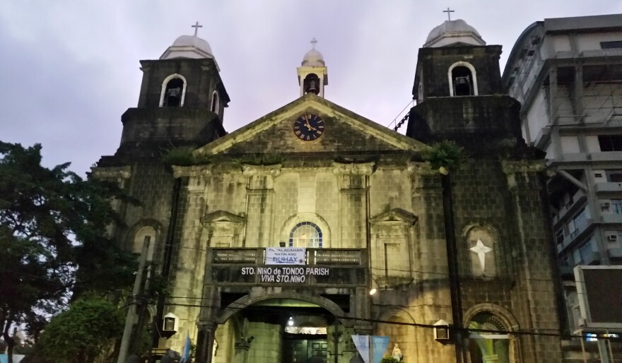 """At Manila's Santo Nino de Tondo Church, Auxiliary Bishop Broderick Pabillo worries about the Philippine president's war on drugs and efforts to re-impose the death penalty. """"The culture of death is what we are fighting,"""" Pabillo says. """"The culture where the belief is that death is the solution to problems."""""""