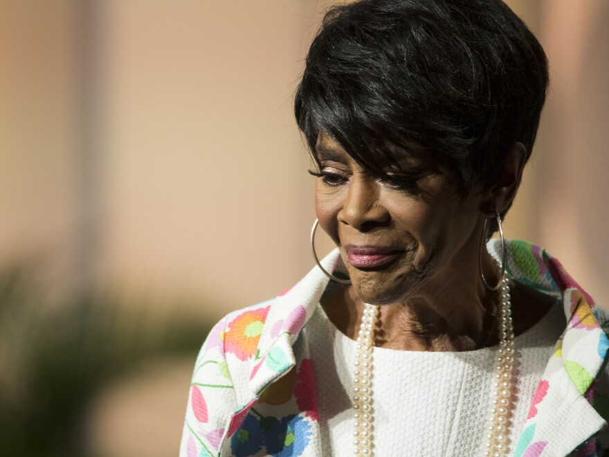 "Cicely Tyson says her mother did not want her to be an actress. ""But in my gut, I knew there was something there that I was put here to do,"" Tyson says."