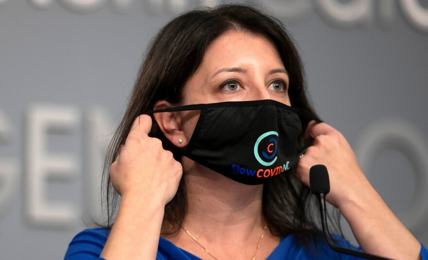 Mandy Cohen mask 111020 NCDPS.jpg