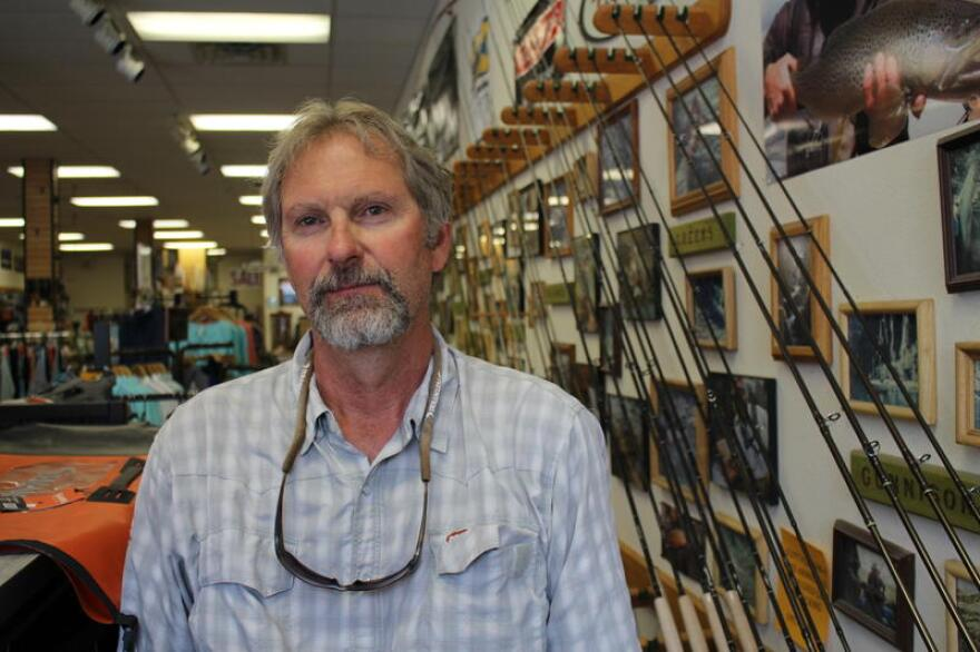 Tom Knopick is co-owner of Duranglers, a fly fishing outfitter in downtown Durango, Colorado.