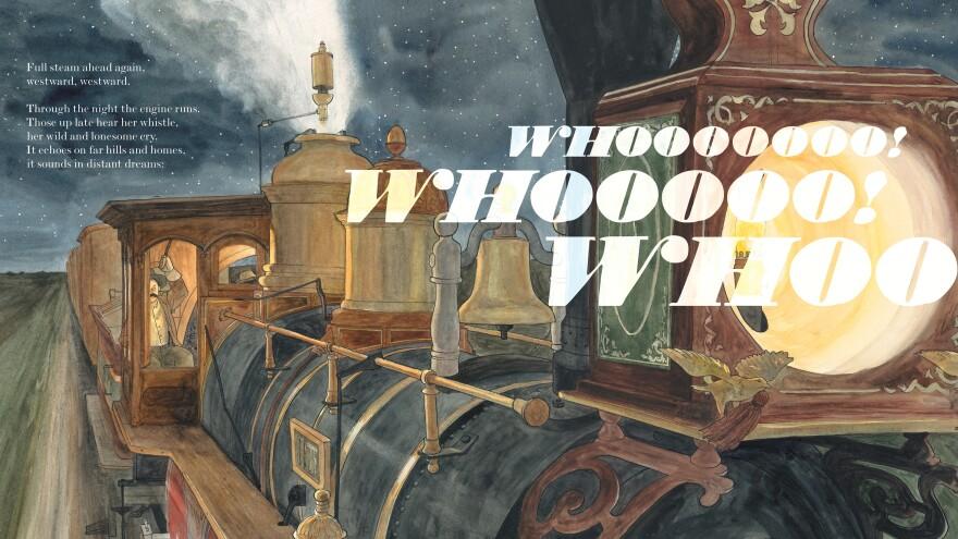 <em>Excerpted from </em>Locomotive<em> by Brian Floca. Copyright 2013 by Brian Floca. Excerpted by permission of </em><em>Simon & Schuster Children's Publishing.</em>