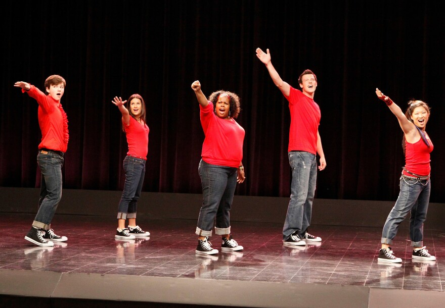 "The fictional William McKinley High School's glee club sang ""Don't Stop Believin'"" in a 2009 episode of Fox's <em>Glee</em>."